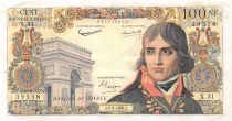 France 100 NF Bonaparte - 03-09-1959 - Serial X.31 - VF