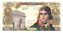 France 100 NF Bonaparte - 03-09-1959 Serial X.33 - VF