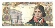France 100 NF Bonaparte - 03-12-1959 Serial J.36 - VF