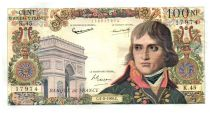 France 100 NF Bonaparte - 04-02-1960 Serial K.45 - VF