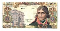 France 100 NF Bonaparte - 04-02-1960 Serial Z.44 - VF+
