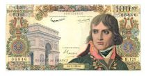 France 100 NF Bonaparte - 04-05-1961 Serial B.123 - XF