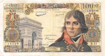 France 100 NF Bonaparte - 04-06-1959 - Serial B.21 - F to VF
