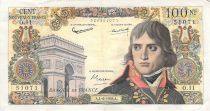 France 100 NF Bonaparte - 04-06-1959 - Serial O.11 - VF
