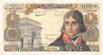 France 100 NF Bonaparte - 04-06-1959 - Serial T.11 - VF
