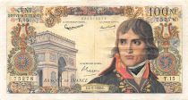 France 100 NF Bonaparte - 04-06-1959 - Serial T.15 - VF