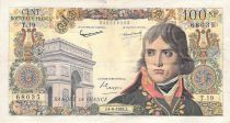 France 100 NF Bonaparte - 04-06-1959 - Serial T.19 - F+