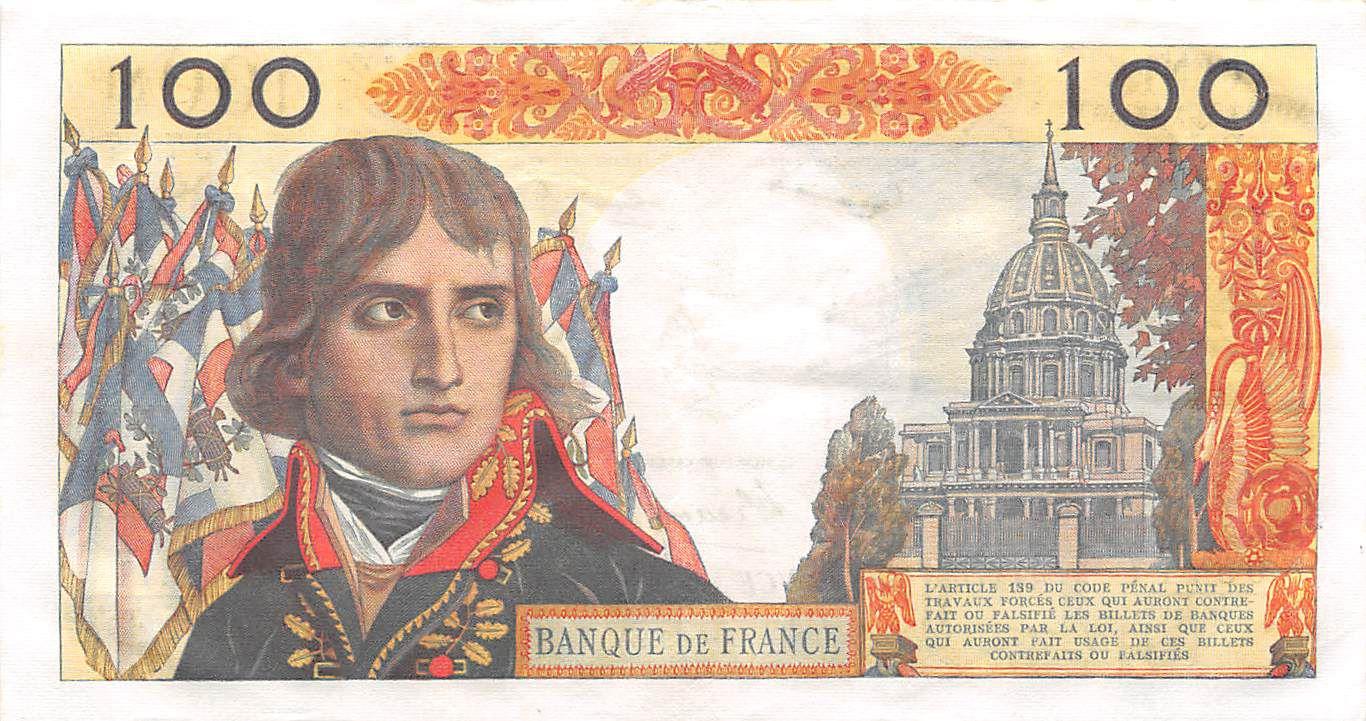 France 100 NF Bonaparte - 04-06-1959 - Série R.11 - TTB