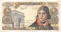 France 100 NF Bonaparte - 05-03-1959 - Serial T.10 - VF