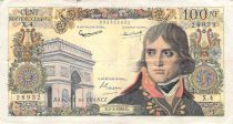 France 100 NF Bonaparte - 05-03-1959 - Serial X.4 - F+