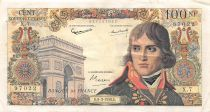 France 100 NF Bonaparte - 05-03-1959 - Serial X.7 - F to VF