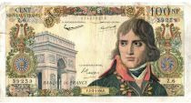 France 100 NF Bonaparte - 05-03-1959 - Serial Z.6 - F
