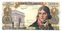 France 100 NF Bonaparte - 07-04-1960 Serial Z.57 - VF