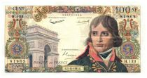 France 100 NF Bonaparte - Various Years 1959-1964 - F+ to VF