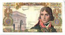 France 100 NF Napoleon Bonaparte - 1961