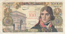France 100 NF sur 10000 Francs Bonaparte - 1958 Série U.148