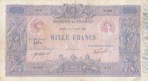 France 1000 Francs - 01-04-1916 - Serial K.948 -  Fine