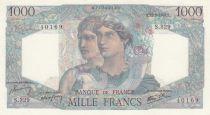 France 1000 Francs - 03-10-1946 - Serial T.355 - a.UNC - P.130