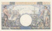 France 1000 Francs - 06-07-1944 - P.96c - UNC