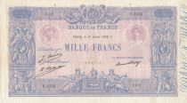 France 1000 Francs - 17-07-1926 - Serial F.2555 -  VF +