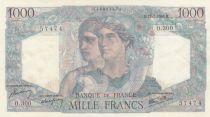 France 1000 Francs 11-07-1946 - Serial O.300 - XF