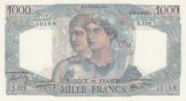 France 1000 Francs 12-09-1946 - Serial S.329 - XF