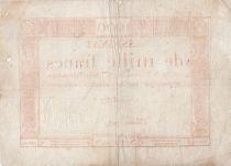 France 1000 Francs 18 Nivose An III - 7.1.1795 - Sign. Bertaut - F to VF