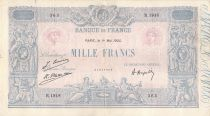France 1000 Francs Blue on lilac - 01-05-1925 - Serial R.1918 -  F to VF