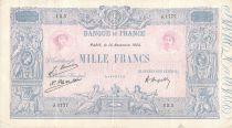 France 1000 Francs Blue on lilac - 14-11-1924 - Serial J.1777 -  VF
