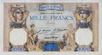 France 1000 Francs Ceres and Mercury - 04-01-1930 Serial T.788 - VF