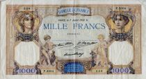 France 1000 Francs Ceres and Mercury - 07-07-1932 Serial P.2024 - VF