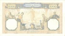 France 1000 Francs Ceres and Mercury - 09/12/1937 Serial Y3086