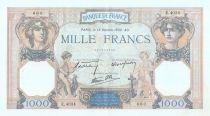 France 1000 Francs Ceres and Mercury - 13/10/1938 Serial E.4034