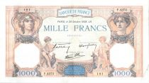 France 1000 Francs Ceres and Mercury - 20-10-1938 Serial D.4373-181