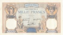 France 1000 Francs Ceres and Mercury - 23-05-1940 Serial C.9726-220
