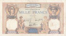 France 1000 Francs Cérès et Mercure - 02-02-1939 - Série F.6281