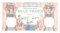 France 1000 Francs Cérès et Mercure - 02-02-1939 Série C.6182-668
