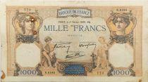 France 1000 Francs Cérès et Mercure - 02-02-1939 Série N.6184 - TB