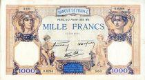 France 1000 Francs Cérès et Mercure - 02/02/1939 Série O.6284 - TTB