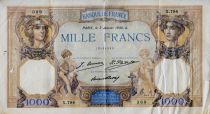 France 1000 Francs Cérès et Mercure - 03-01-1930 Série X.784 - TB