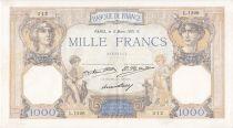 France 1000 Francs Cérès et Mercure - 05/03/1931 Série L1226