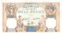 France 1000 Francs Cérès et Mercure - 05-05-1938 Série D.3264 - TTB