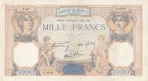 France 1000 Francs Cérès et Mercure - 06-10-1938 Série C.4004 - TTB