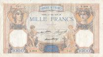France 1000 Francs Cérès et Mercure - 07-05-1937 - Série X.2856
