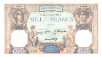 France 1000 Francs Cérès et Mercure - 07-07-1932 Série D.2024 - TTB