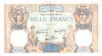 France 1000 Francs Cérès et Mercure - 08-02-1940 Série Z.8837 - TTB