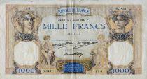 France 1000 Francs Cérès et Mercure - 09-07-1931 Série G.1451 - TB
