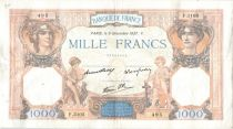 France 1000 Francs Cérès et Mercure - 09-12-1937 Série F.3105
