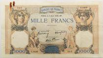 France 1000 Francs Cérès et Mercure - 11-04-1940 Série G.9439 - TTB
