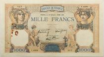 France 1000 Francs Cérès et Mercure - 13-10-1938 Série C.4096 - TTB